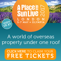 Place in the Sun Show - Olympia London - 5-8 May 2017