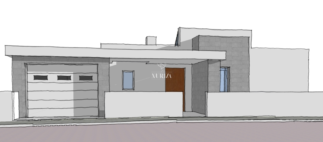 Land with building project - Burgau